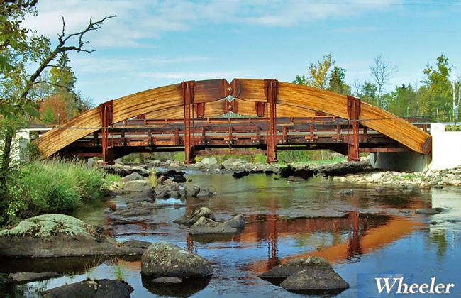 Long Span Timber Bridges Wheeler