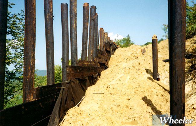 Timber Retaining Walls Wheeler