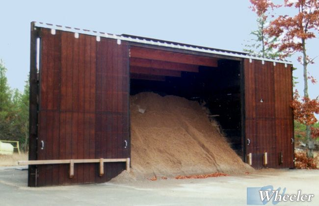 Salt Storage Buildings Shed Roof Wheeler